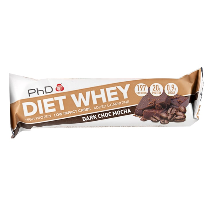 PhD Diet Whey Bar Dark Chocolate Mocha 65g