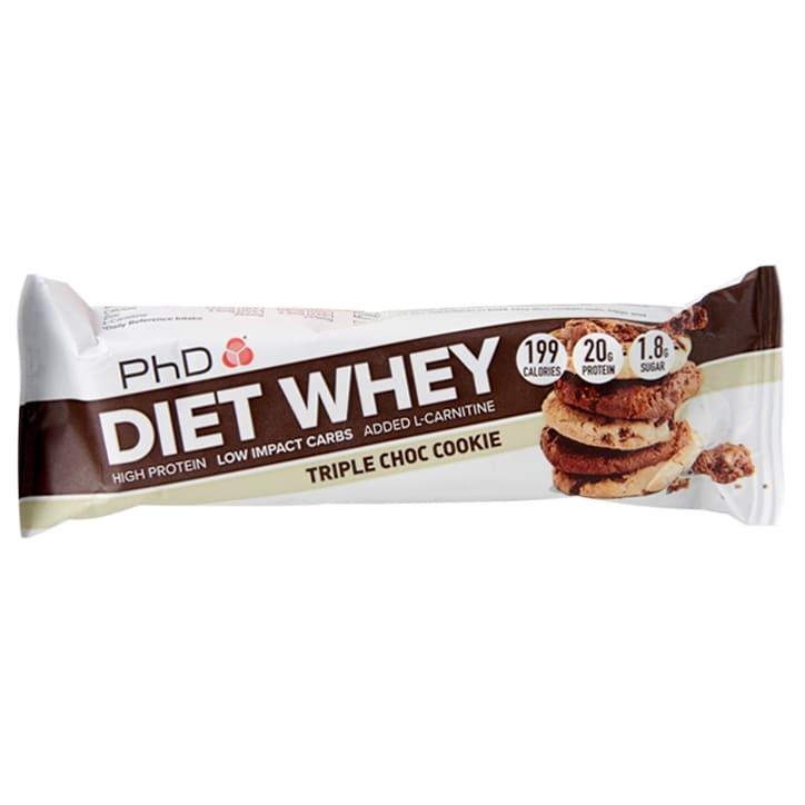 PhD Diet Whey Bar Triple Chocolate Cookie 65g