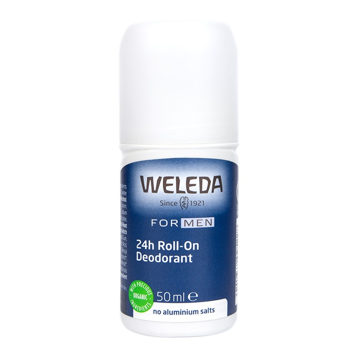 Weleda Mens 24h Roll On Deodorant 50ml