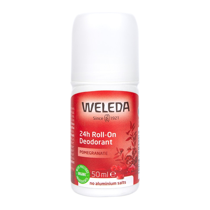 Weleda Pomegrante 24h Roll On Deodorant 50ml
