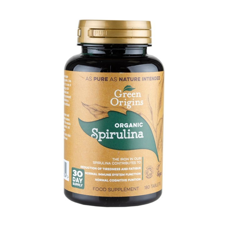 Green Origins Spirulina Tablets 500mg 180 Tablets
