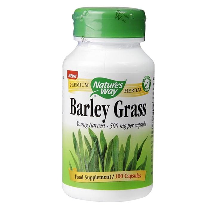 Nature's Way Barley Grass 100 Capsules 500mg