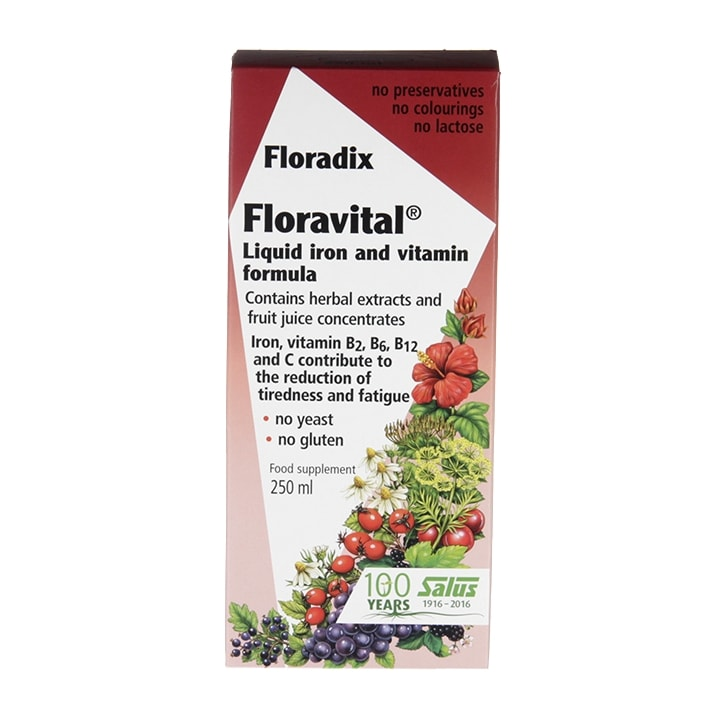 Floravital Herbal Iron and Vitamin Formula