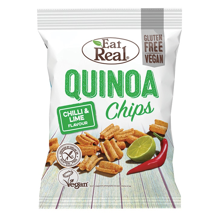 Eat Real Chilli & Lime Quinoa Chips 80g