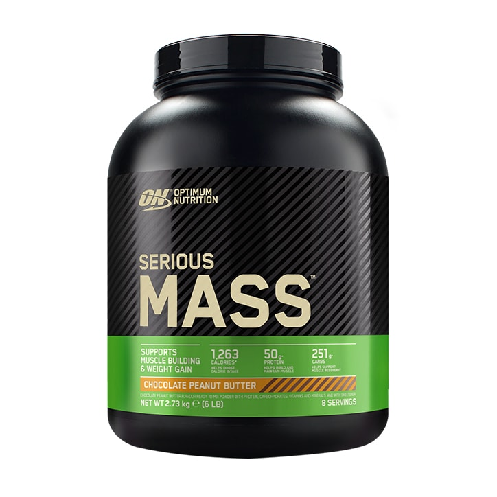 Optimum Nutrition Serious Mass Chocolate Peanut Powder 2730g