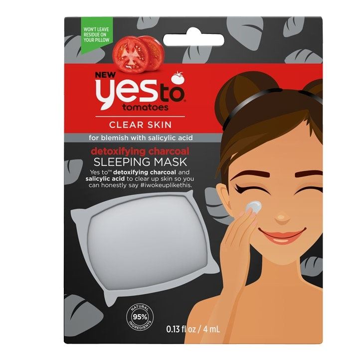 Yes to Tomatoes Detoxifying Charcoal Blemish Fighting Sleeping Mask