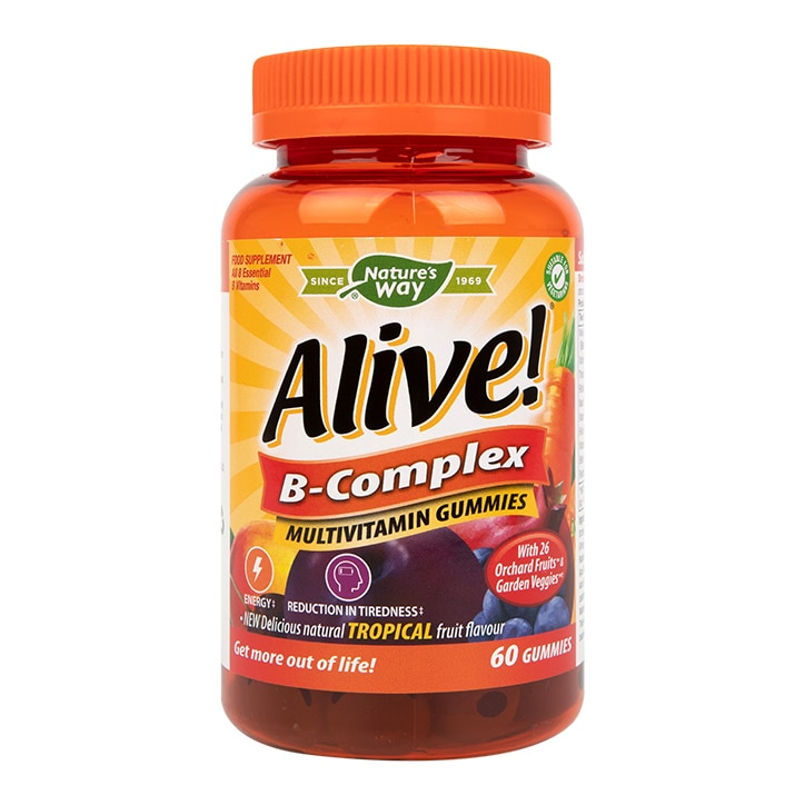 Nature's Way Alive! B Complex Multi Vitamins 60 Soft Jells