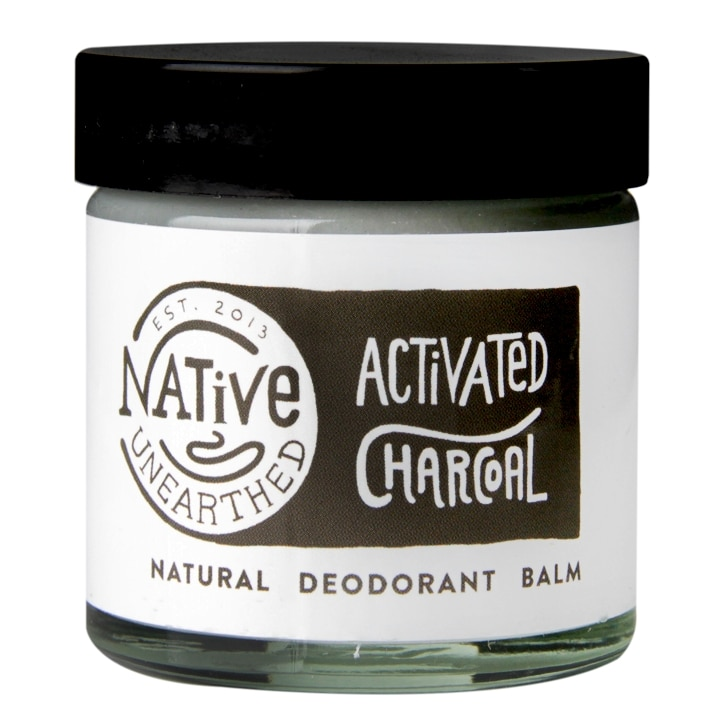 Native Unearthed Natural Deodorant Balm Activated Charcoal 60g