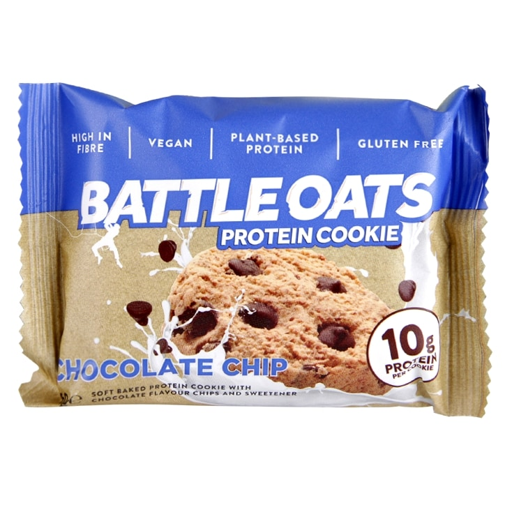 Battle Oats Chocolate Chip Cookie 60g