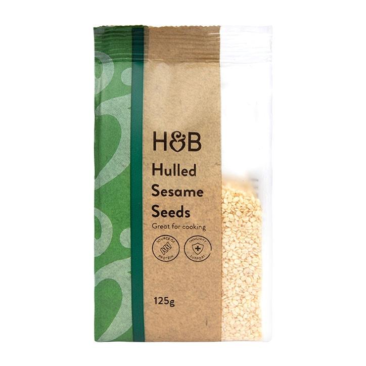 Holland & Barrett Hulled Sesame Seeds 125g