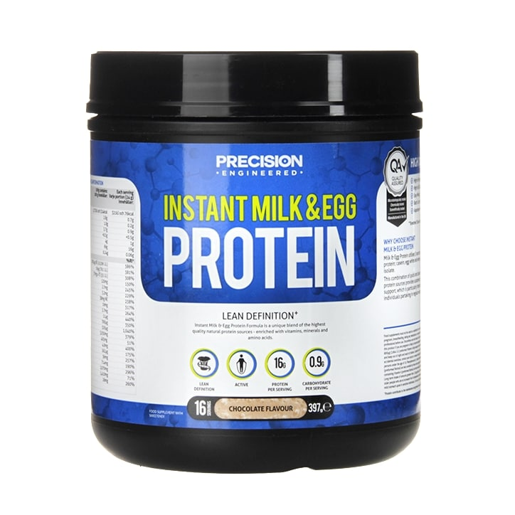 Precision Engineered Milk & Egg Protein Powder Chocolate