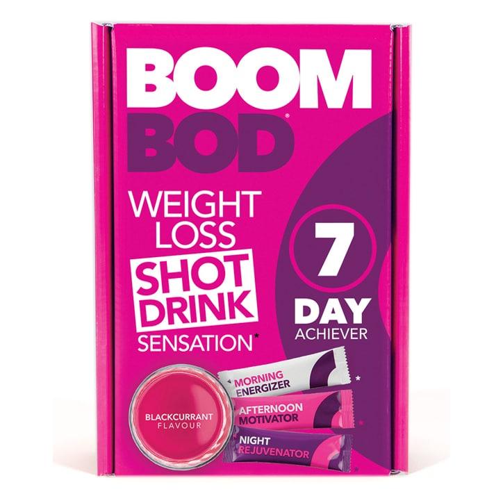 Boombod 7 Day Achiever 21 Sachets Blackcurrant Flavour