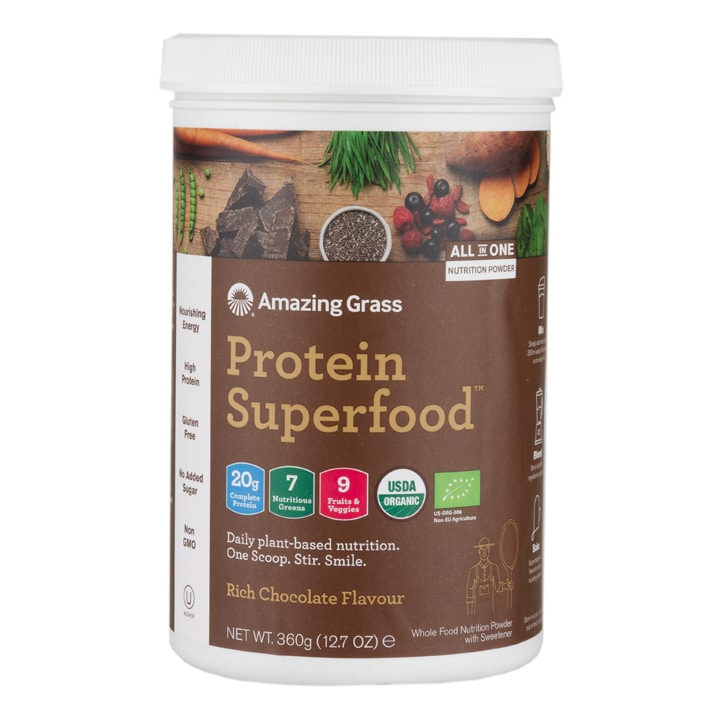 Amazing Grass Protein Superfood Rich Chocolate 360g