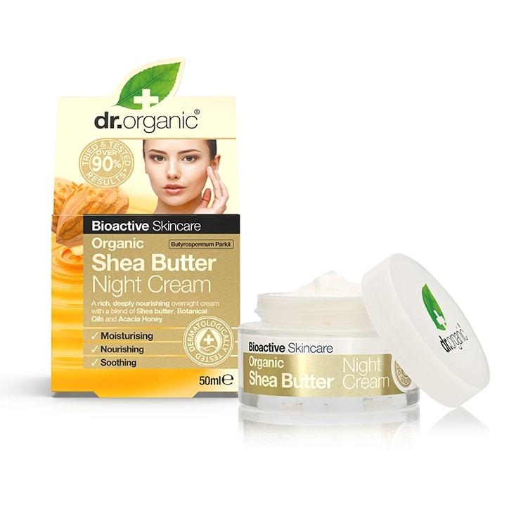 Dr Organic Shea Butter Night Cream
