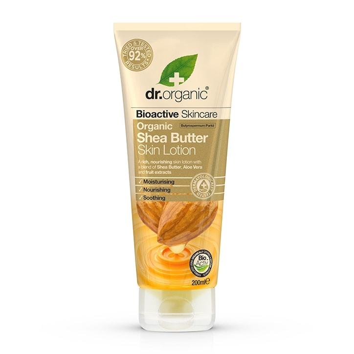 Dr Organic Shea Butter Skin Lotion 200ml