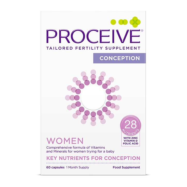 Proceive Women Advanced Fertility Supplement 60 Capsules
