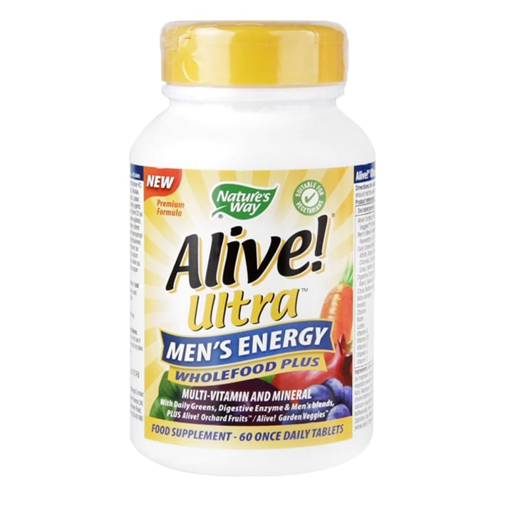 Nature's Way Alive! Men's Ultra Energy 60 Tablets