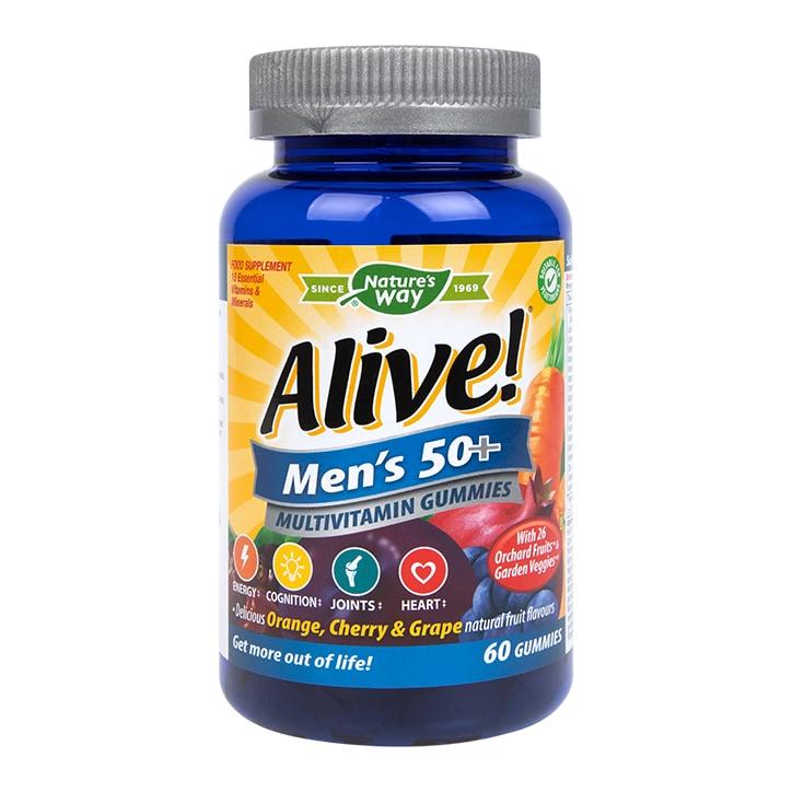 Nature's Way Alive! Men's Ultra 50+ Multi Vitamin & Mineral 60 Soft Jells