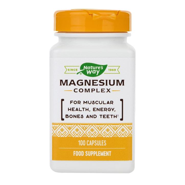Nature's Way Magnesium Complex Citrate Blend 100 Capsules