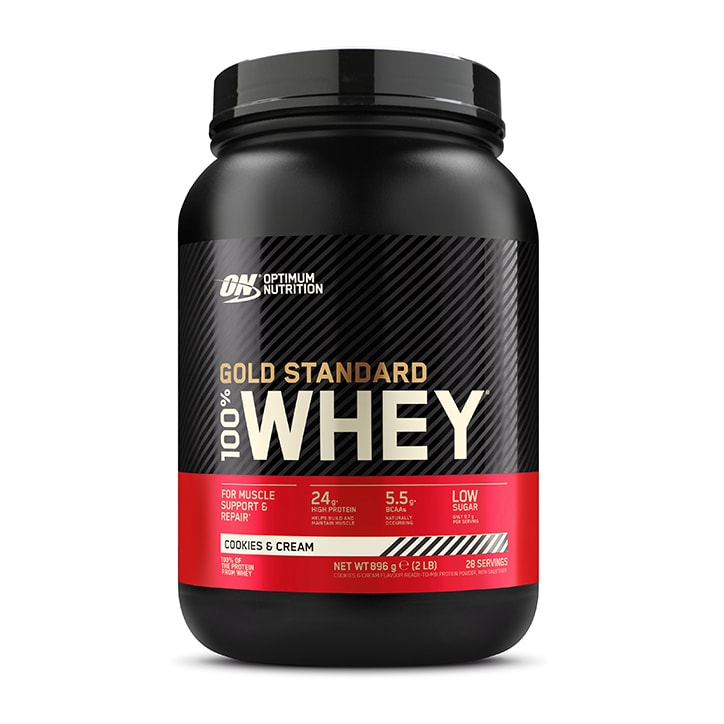 2e3641097 Optimum Nutrition Gold Standard 100% Whey Powder Cookies   Cream