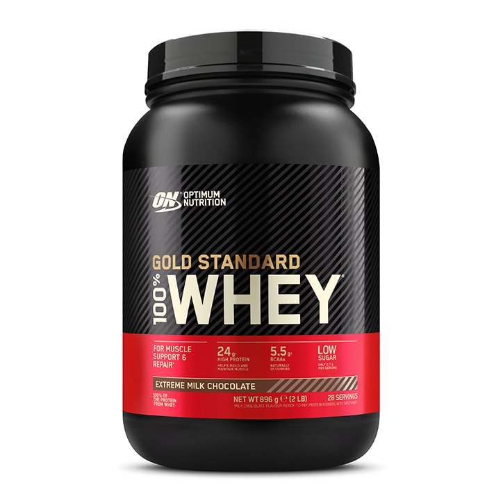Optimum Nutrition Gold Standard 100% Whey Powder Extreme Chocolate 908g