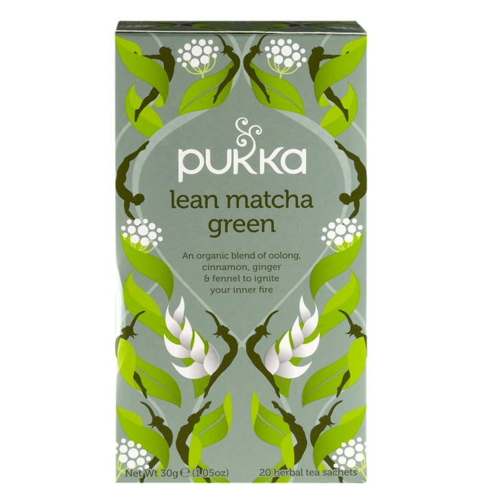 Pukka Lean Matcha Green Tea 20g
