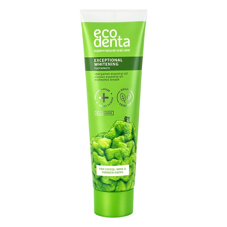 Ecodenta Whitening Toothpaste with Bergamot & Lemon 100ml