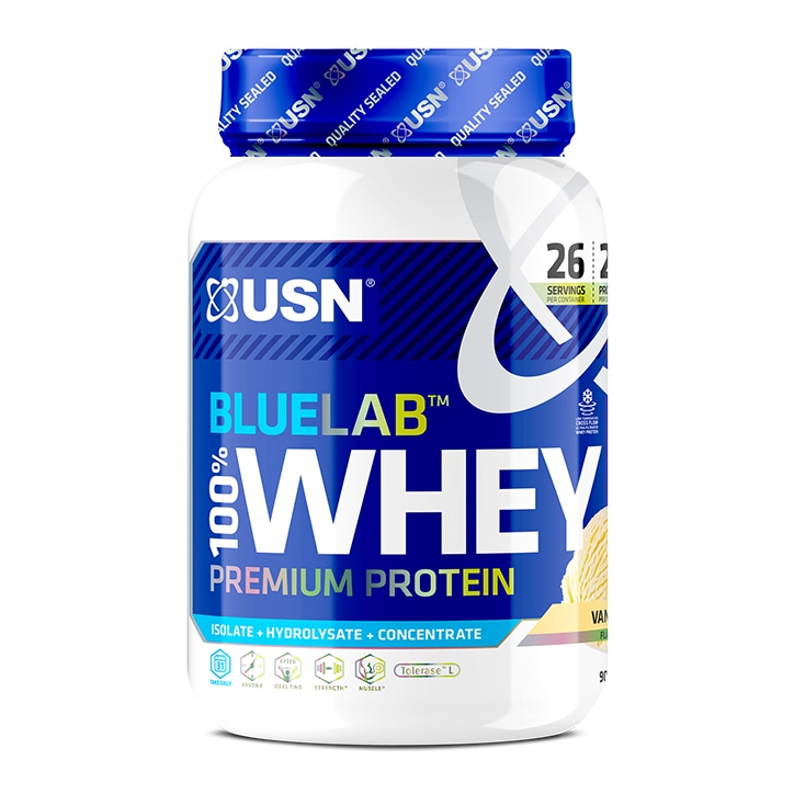 USN Blue Lab 100% Whey Vanilla