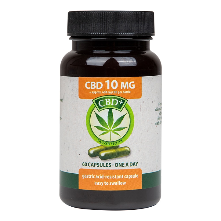 Jacob Hooy CBD 60 Capsules 10mg