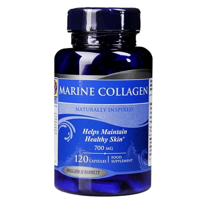 Holland & Barrett Marine Collagen 120 Capsules