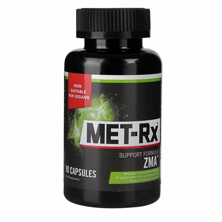 Met-Rx ZMA Support Formula Capsules