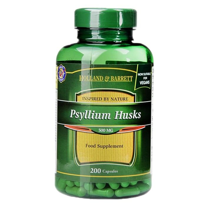 Holland & Barrett Psyllium Husks Capsules 500mg
