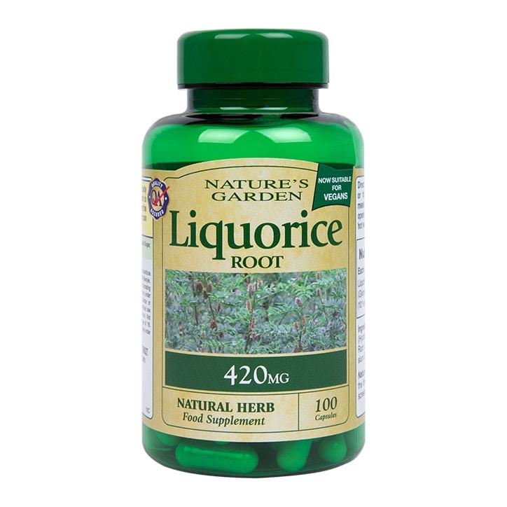 Nature's Garden Liquorice Root 100 Capsules 420mg