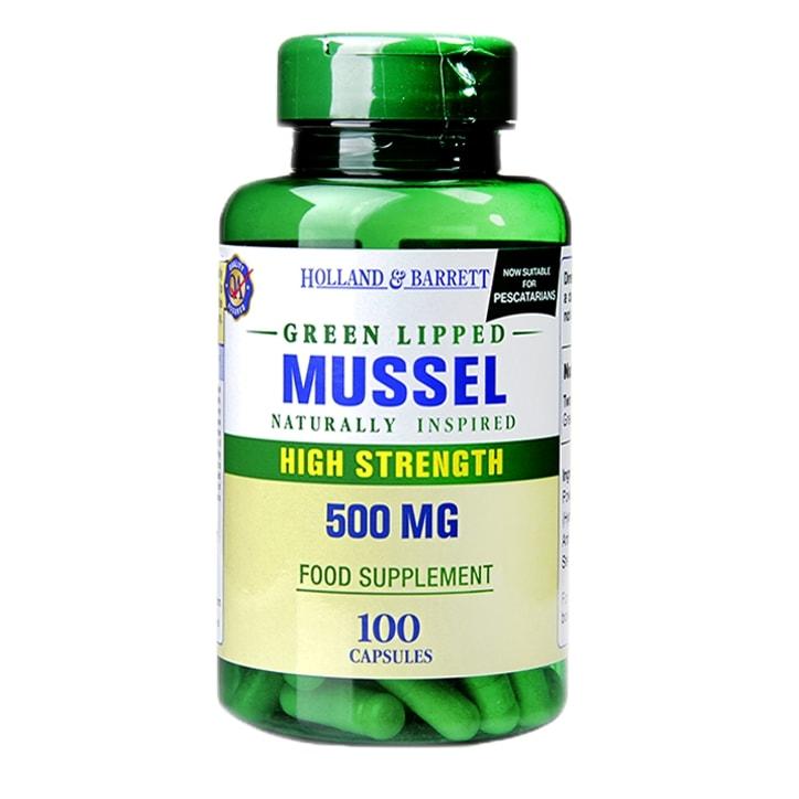 Holland & Barrett Green Lipped Mussel 500mg