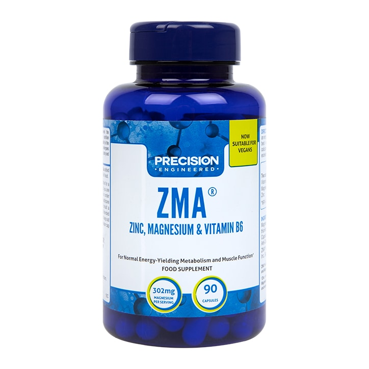 Precision Engineered ZMA Anabolic Mineral Support Formula 90 Capsules