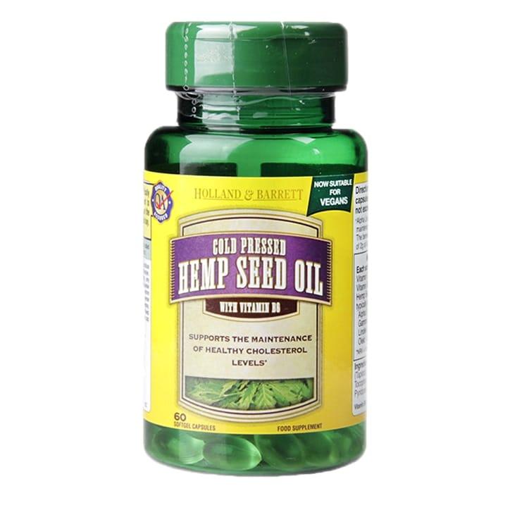 Holland & Barrett Hemp Seed Oil with Vitamin B6