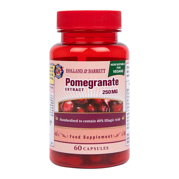 Holland & Barrett Pomegranate 250mg 60 Capsules