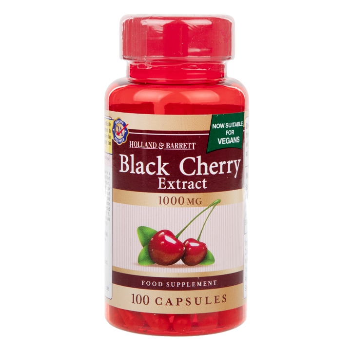 Holland & Barrett Black Cherry Extract 1000mg