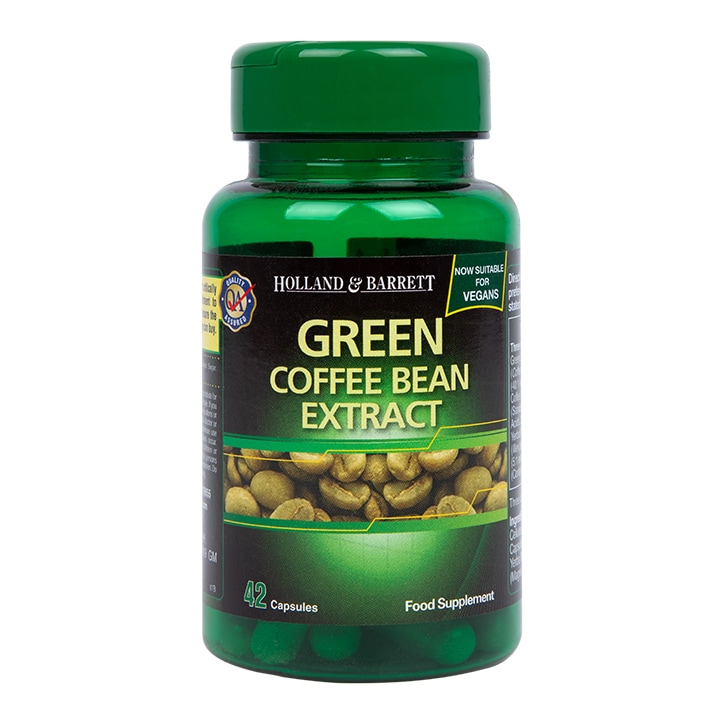 Holland Barrett Green Coffee Bean Extract 42 Capsules Holland