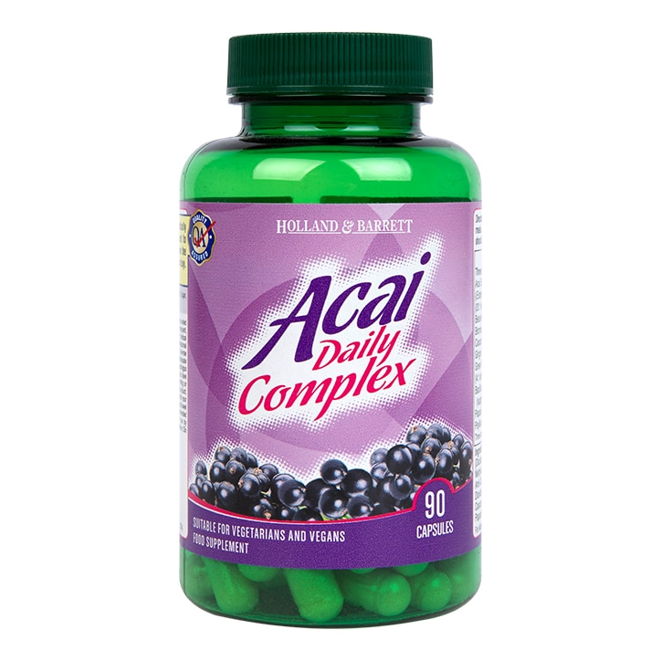 Holland & Barrett Acai Daily Complex 1000mg Capsules