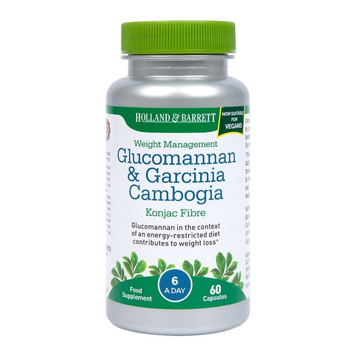 Holland & Barrett Glucomannan & Garcinia Capsules