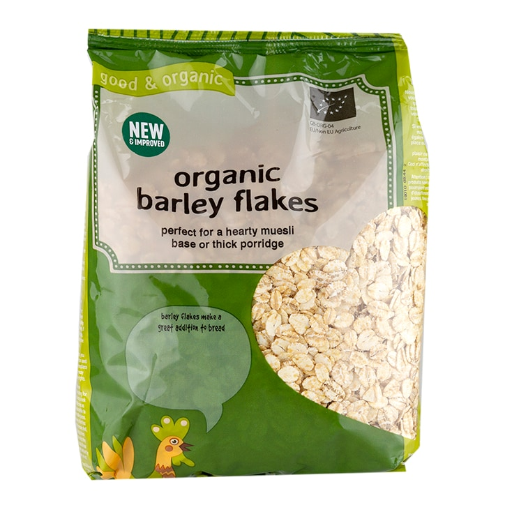 Holland & Barrett Organic Barley Flakes