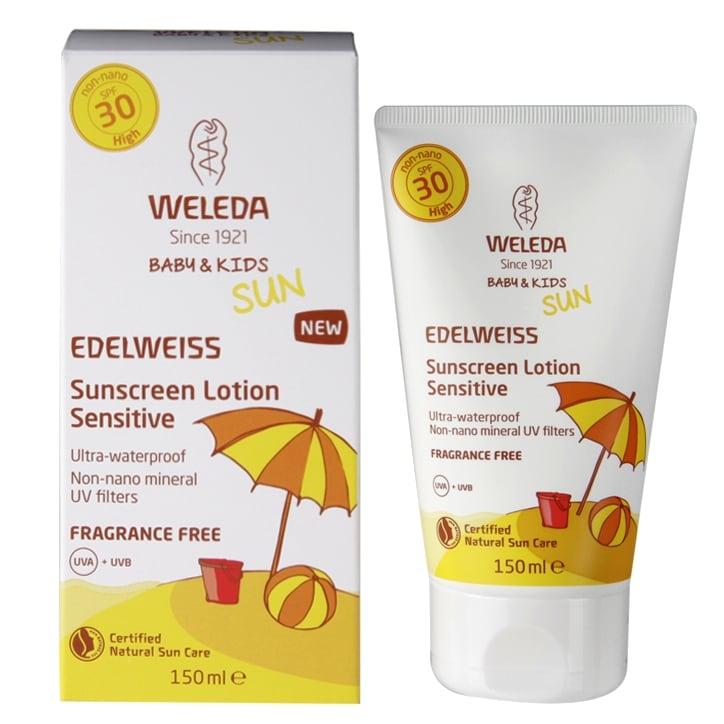 Weleda Edelweiss Sun Lotion Sensitive SPF 30