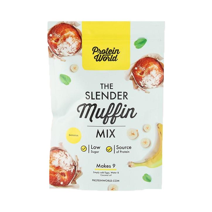 Protein World Slender Baking Muffin Mix Banana Flavour 200g