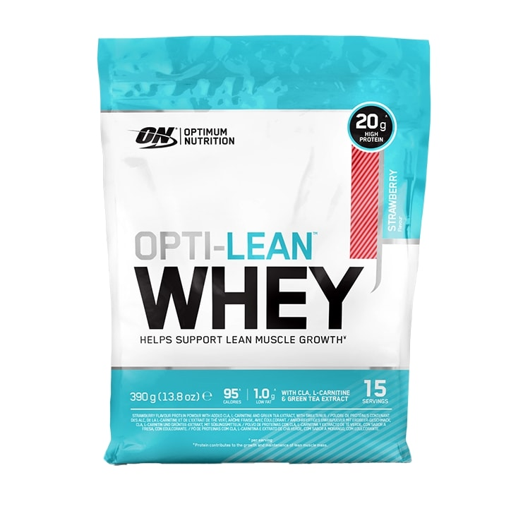 Optimum Nutrition Opti-Lean Whey Powder Strawberry 390g
