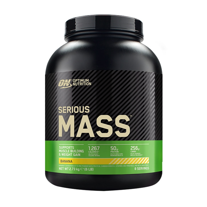 Optimum Nutrition Serious Mass Banana Powder 2727g