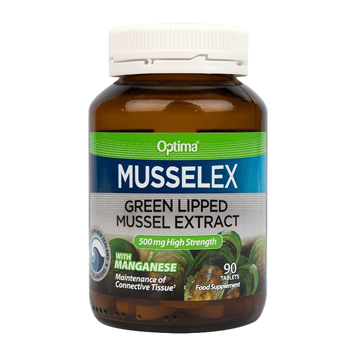 Optima Healthcare Musselflex Green Lipped Mussel Extract Tablets