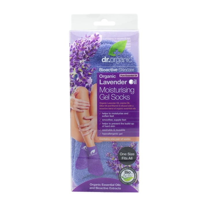 Dr Organic Lavender Oil Moisturising Gel Socks