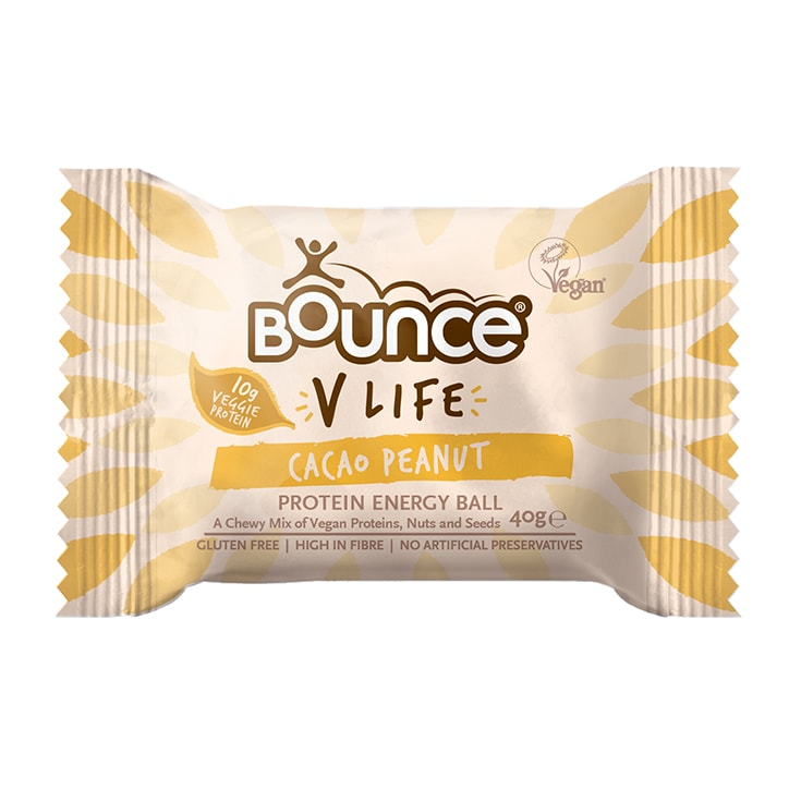 Bounce Vlife Cacao Peanut Energy Ball 40g