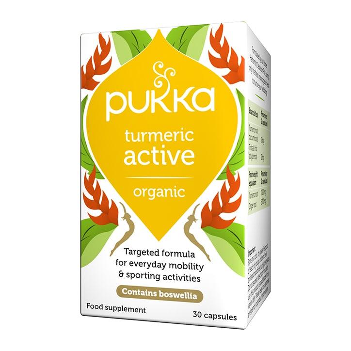 Pukka Organic Turmeric Active 30 Capsules